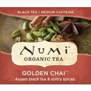 Numi Organic Golden Chai Black Tea -- 100 per case.