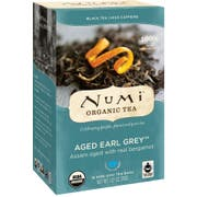 Numi Organic Aged Earl Grey Black Tea, 0.08 Pound -- 6 per case.