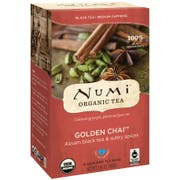 Numi Organic Golden Chai Black Tea, 0.1 Pound -- 6 per case.