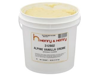 Henry and Henry Alpine Vanilla Creme Pail -- 1 each.