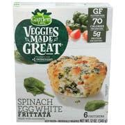 Garden Lites Spinach Egg White Frittata, 12 Ounce -- 8 per case