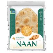 California Lavash Traditional Naan Flatbread, 11 Ounce -- 8 per case