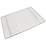 Crestware Chrome Plated Wire Half Sheet Grate, 16 1/2 x 12 x 3/4 inch -- 1 each