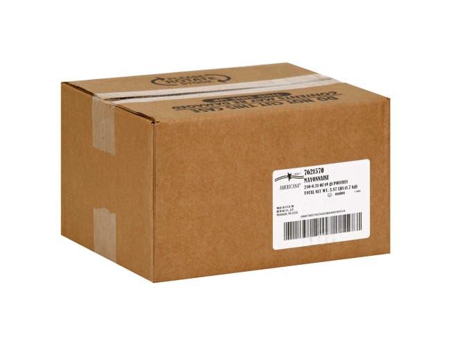 Americana Mayonnaise - Polypropylene -- 200 Count 9 Gram