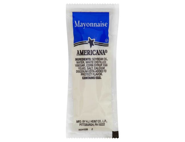 Mayonnaise Americana,12 Gram -- 200 Count