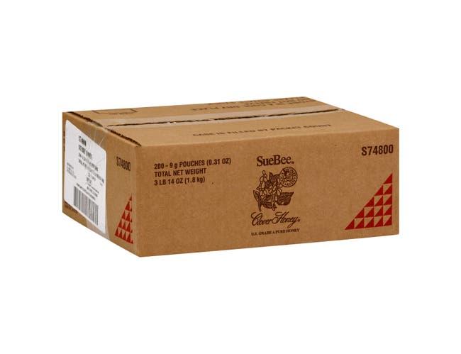 SueBee Clover Honey, 9 Gram -- 200 Count