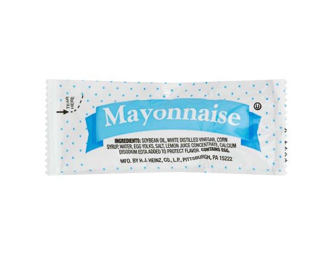 Mayonnaise -- 200 Count 12 Gram
