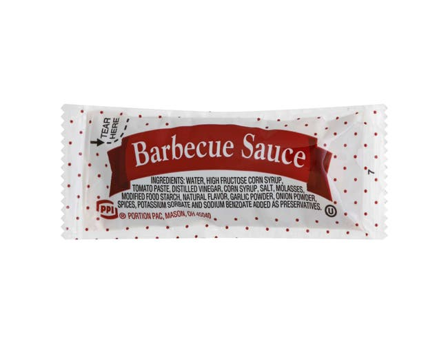 Barbecue Sauce -- 200 Count 12 Gram