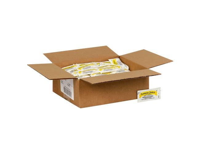 Portion Pac Lemon Juice Packets,  4 Gram -- 200 per case