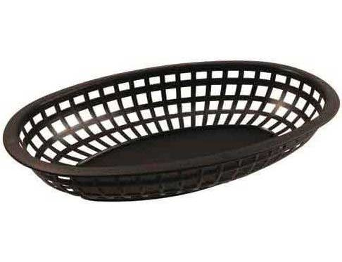 Bar Maid Green Oval Basket, 9.5 x 5 x 2 inch -- 36 per case