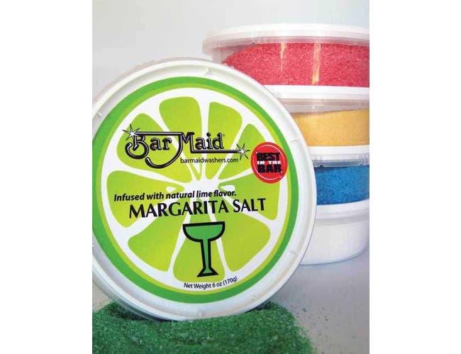 Bar Maid Green Margarita Salt, 6 Ounce -- 12 per case