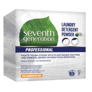 Single Seventh Generation Pro Laundry Detergent Powder, Free and Clear, Unscented, 112 Ounce -- 1 each