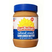 SunButter Natural Crunch Sunflower Seed Spread, 1 Pound -- 6 per case