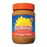 Sunbutter No Sugar Added Sunflower Seed Spread, 1 Pound -- 6 per case.