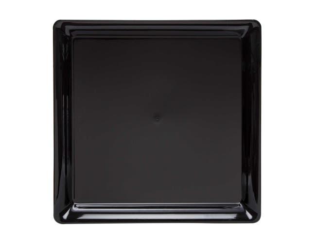 WNA Black Square Platter, 18 x 18 inch -- 20 per case.