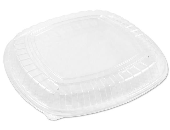 D and W Fine Pack Forum No Logo Vented Low Lid Only, 16 inch -- 50 per case.