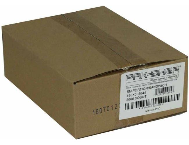 Pak Sher Food Storage Utility Bag, 6.37 X 7 inch -- 2000 per case.
