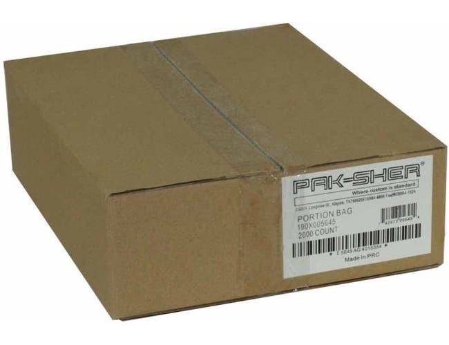 Pak Sher Food Storage Bag, 8 x 8 inch -- 2000 per case.