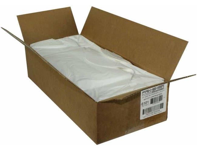 Pak Sher White Carryout Bag, 23 x 10 x 18.5 inch -- 500 per case