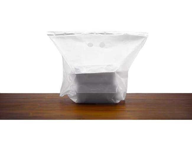 Pak Sher Clear Tamper Evident Liner Bag, 21 inch -- 100 per case.