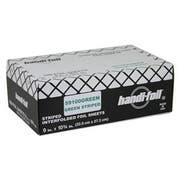 Handi Foil Green Foil Sheets -- 3000 per case.