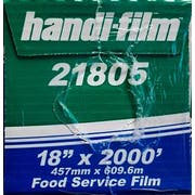 Handi Foil Food Film, 18 inch x 2000 feet -- 1 each.