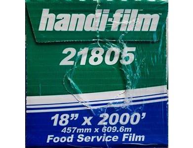 Handi Foil Food Film, 18 inch x 2000 feet -- 1 each.