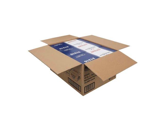Handi Foil Medallion Interfolded Foil Sheet, 12 x 10 inch - 200 per pack -- 12 packs per case.