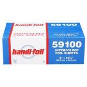 Handi Foil Aluminum 9 x 10.7 inch Foil Sheets -- 3000 per case.
