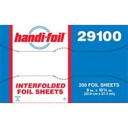 Handi Foil Interfolded Aluminum Foil Sheets -- 2400 per case.