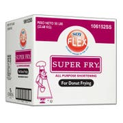 Super Fry Soy Flex Donut Fry Shortening, 50 Pound -- 1 each.