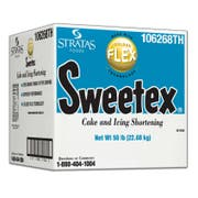 Sweetex Golden Flex Cake and Icing Shortening, 50 Pound -- 1 each.