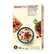ThinkThin Farmers Market Berry Crumble Oatmeal, 10.6 Ounce -- 6 per case.