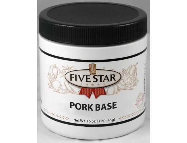 Five Star Pork Base, 1 Pound -- 6 per case.