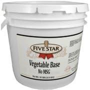 Five Star No Msg Vegetable Base, 10 Pound -- 2 per case.