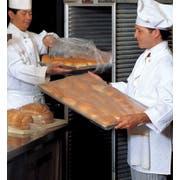 Pitt Plastics Get Reddi 0.75 Mil Clear Bun Pan Cover, 21 x 6 x 35 inch -- 200 per case.