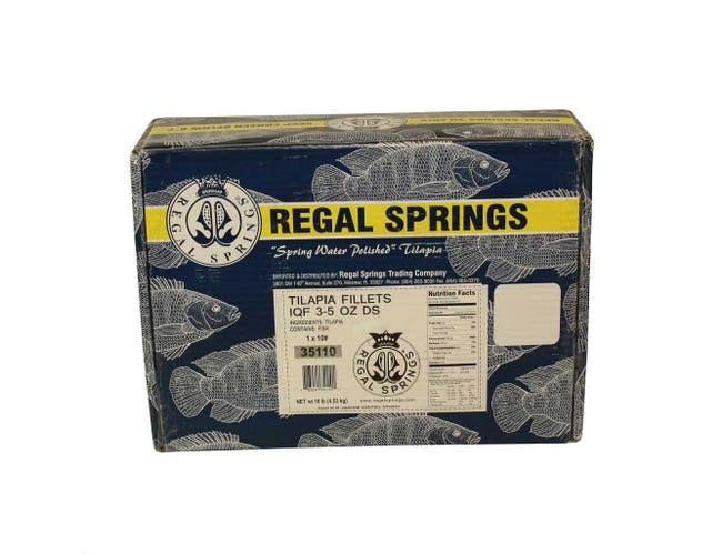 Regal Spring Tilapia Fillet, 3 to 5 Ounce -- 1 each.