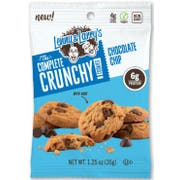 Lenny and Larrys The Complete Crunchy Cookie - Chocolate Chip, 1.25 Ounce -- 72 per case.