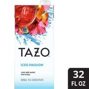 Single Tazo Passion Iced Tea Concentrate 1:1, 32 Ounce -- 1 each