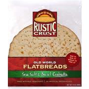 Rustic Crust Ciabatta Flatbread, 12 Inch -- 6 per case