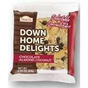 Prairie City Bakery Down Home Delights Chocolate Almond Coconut, 2.5 Ounce -- 60 per case