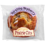Prairie City Bakery Individually Wrapped Bursting Blueberry Down Home Muffin, 4.5 Ounce -- 48 per case.