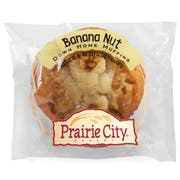 Prairie City Bakery Individually Wrapped Banana Nut Crunch Down Home Muffin, 4.5 Ounce -- 48 per case.