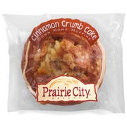 Prairie City Bakery Individually Wrapped Cinnamon Crumbcake Down Home Muffin, 4.5 Ounce -- 48 per case.
