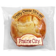 Prairie City Bakery Individually Wrapped Creamy Cheese Streusel Down Home Muffin, 4.5 Ounce -- 48 per case.