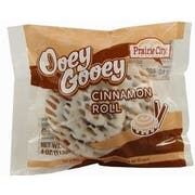 Prairie City Bakery Individually Wrapped Ooey Gooey Cinnamon Roll -- 48 per case.