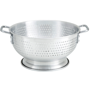 Winco Aluminum Colander with Base and Handle, 11 Quart -- 6 per case