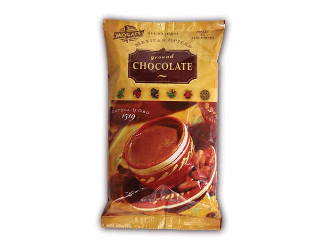 Mocafe Azteca D Oro Mexican Spiced Chocolate Cocoa, 3 Pound Bag -- 4 per case.