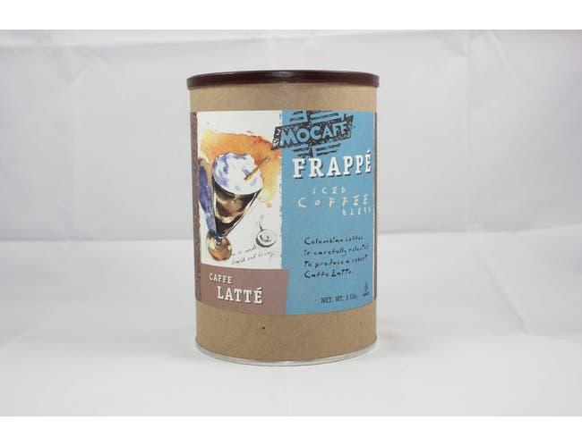 Mocafe Caffe Latte Frappe, 3 Pound Can -- 4 per case.