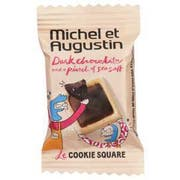Michel Et Augustin Dark Chocolate Sea Salt Cookie, 0.27 Ounce -- 180 per case